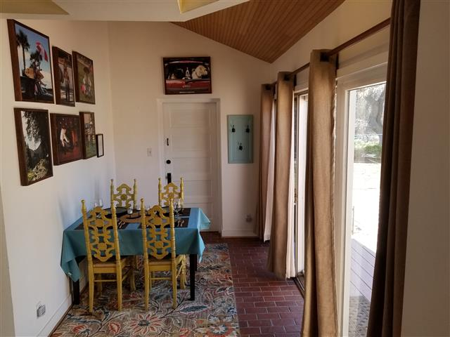 Photo of the dining area at our house in Fort Collins Colorado