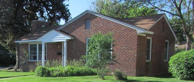 Exterior photo of our house in Fort Collins